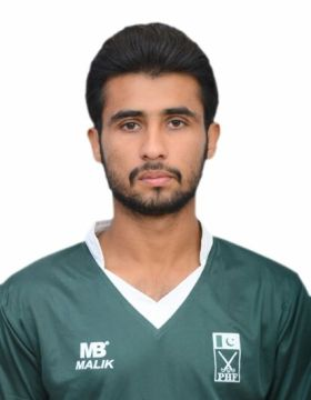 Shajeeh Ahmad Khan hockey player