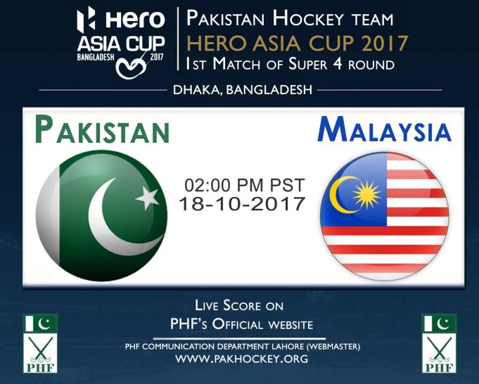 Pakistan meets Malaysia in opening match of second round