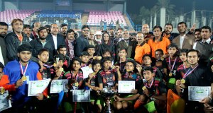 National Under 16 Hockey Final Punjab Blues rout Sindh Reds 6-0