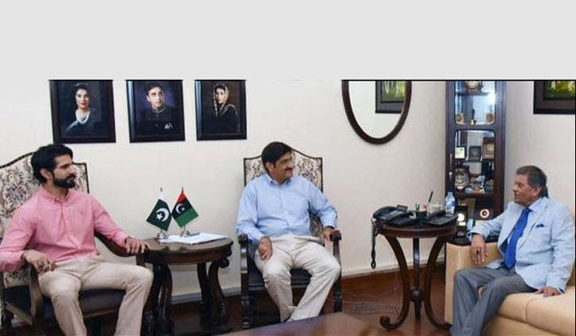 Officials of PHF met CM sindh Murad Ali Shah, CM assures Financial support for National game, renovation of Edhi stadium