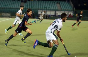 Pakistan drew 2-2 with Japan in tri nation hockey