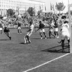 Pakistan playing against Australia, at the 1960 Rome Olympics.