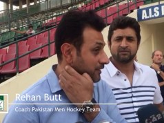 Rehan Butt Pakistan Hockey