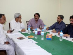 Punjab Hockey Association Executive Council Meeting was held at Lahore on 11 September 2018. Presided by Khawaja Khawar President PHA who praised the present performance of Pakistan Hockey Team and applauded the planning of present management of PHF for development and promotion of hockey for future.