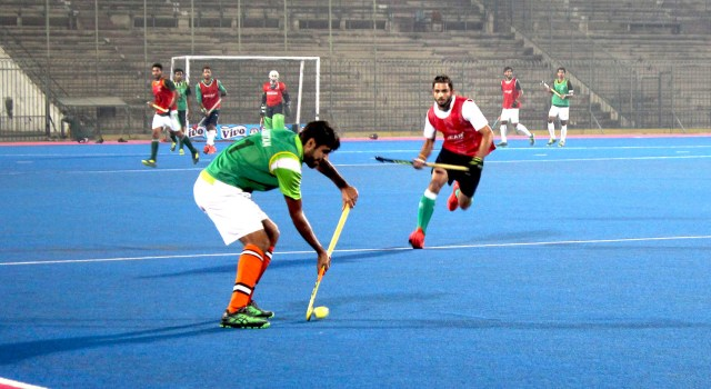 First Day of Trials for World Cup Selection