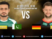 Pakistan's First Match (vs Germany) at 2018 World Cup