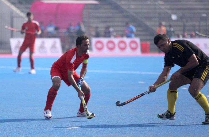 In the opening match of the Haier Hockey Series Open at the National Hockey Stadium, Lahore, Uzbekistan outplayed Afghanistan 11-0 in a completely one sided match Senior Minister Punjab, Raja Bahsahrat was the chief guest at the opening ceremony of this FIH event. He was accompanied by the President PHF, Brig (rtd) Khalid Sajjad Khokhar and officials of PHF and Punjab Hockey Association. The second match was played between Pakistan President XI and Nepal. It is pertinent to mention that Pakistan President XI's is appearing as a guest team. Their matches are all 'friendly games' and carry no points towards the actual tournament. It also turned out to be a lop sided contest. The Pakistan President XI consisting of young emerging players easily defeated Nepal 9-0 Tuesday,s Matches: Kazakhstan vs Nepal, Pakistan President XI vs Uzbekistan