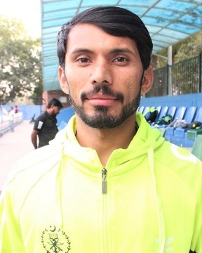 Name: NADEEM HAIDER Age / DOB: 01.04.1993 Birthplace: NAROWAL Height: 5.6 Weight: 64KG Playing since: 2012 Playing Position: RIGHT OUT Current City: ISLAMABAD Shirt #: 7 Department: FFCL International Caps: International Goals (Senior): No of Domestic Matches: Goals (Domestic):