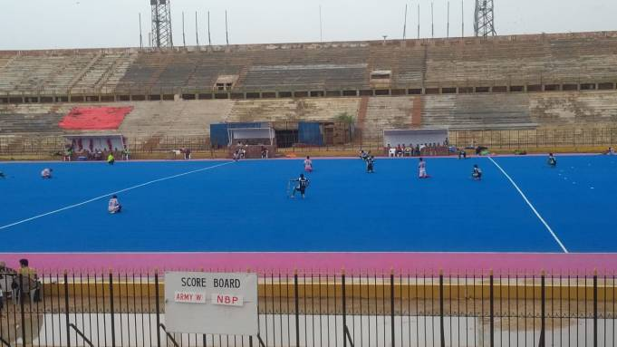 Wapda rout Army Whites in Noor Khan National Hockey