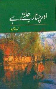 Aur Chanar Jalte Rahay Novel By A Hameed