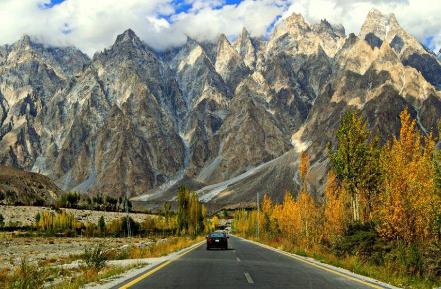 Image result for Karakoram Highway, Pakistan