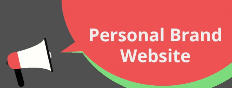 personal brand website
