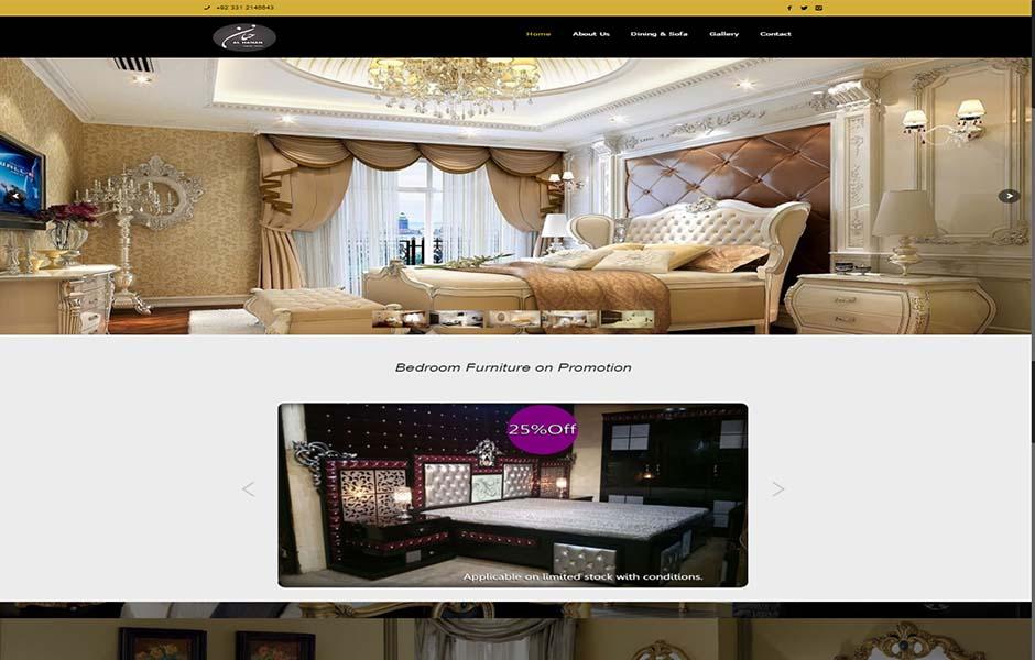Web Design recent project