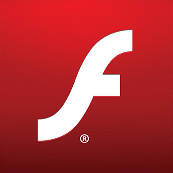 flash on website