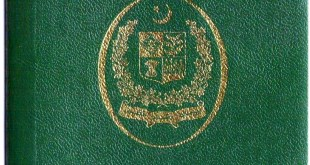 Pakistan passport No. 196
