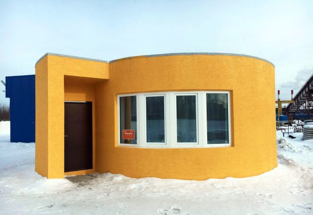 3D Printer Printed the Entire House in 24 Hours