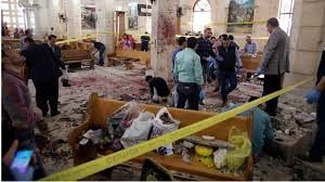 Blasts two churches Egypt