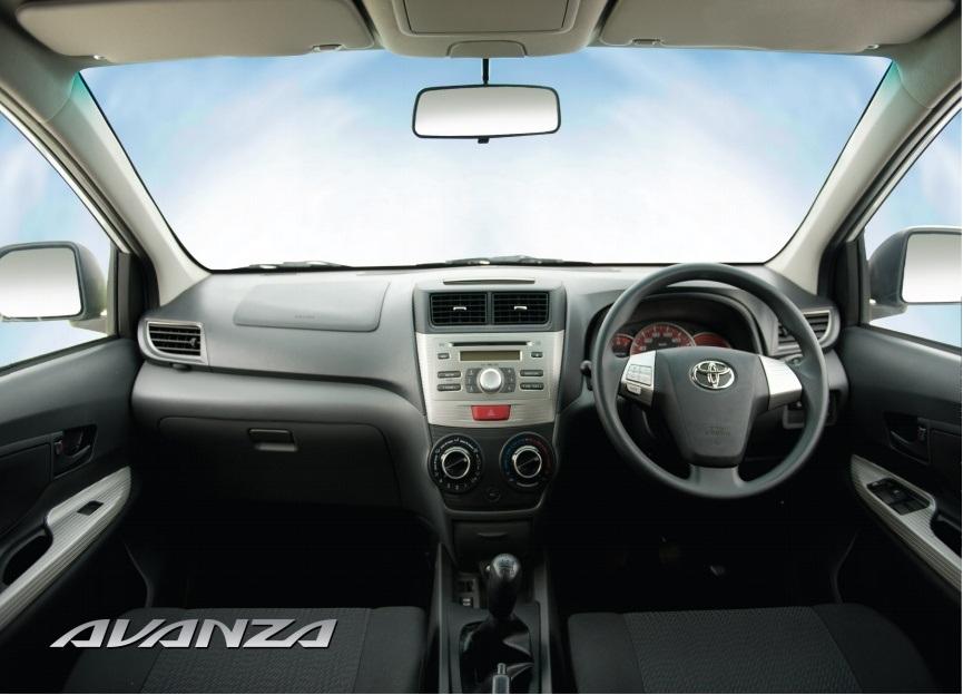 Toyota Avanza 15 2013 Interior Pictures