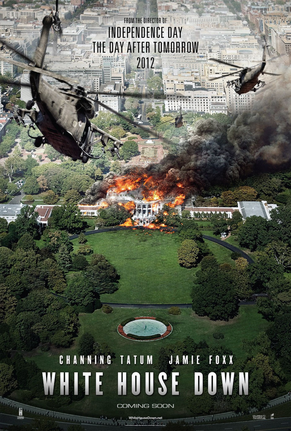 Movie Review White House Down  wordsofwistim