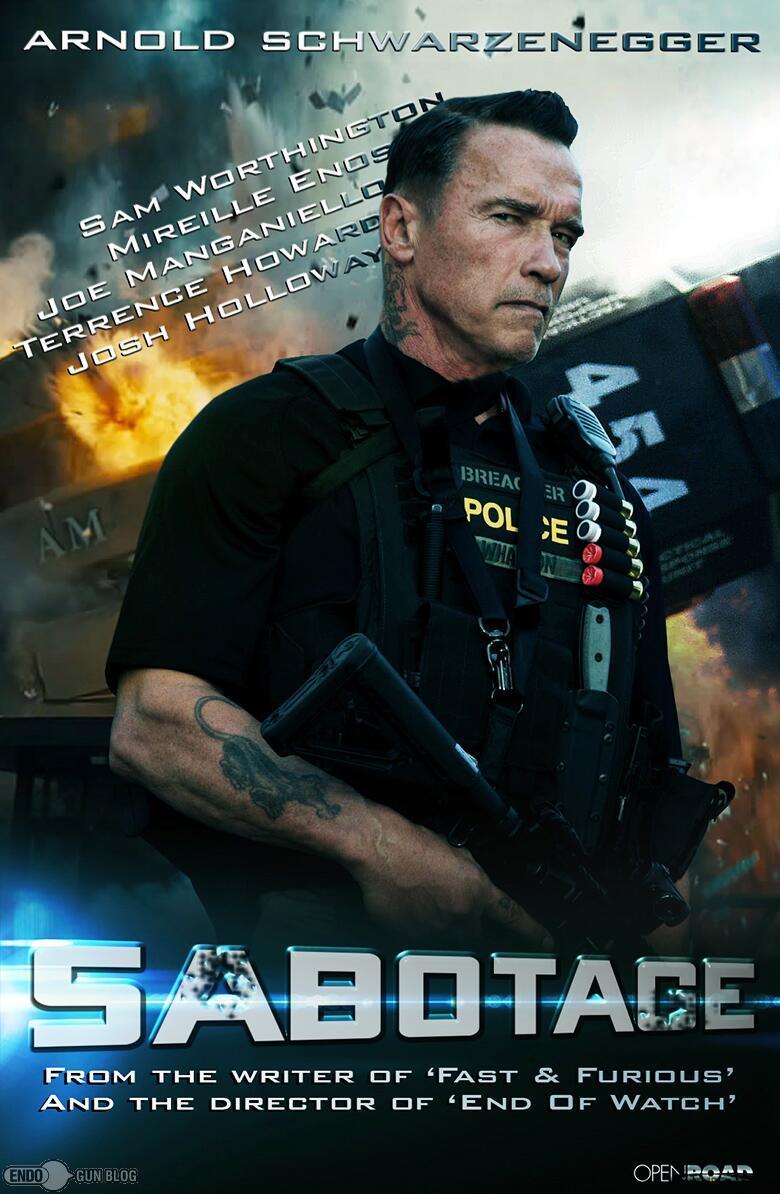 Movie Sabotage 2014 Movie Poster