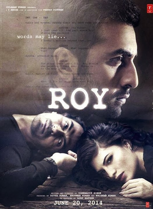 indian movie Roy 2014 Watch full movie poster
