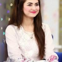Pakistani actress Hania Amir