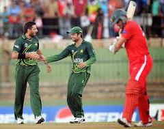 Pakistan won by 5 wickets in the first T20 against Zimbabwe