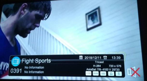 Fight Sports HD for Pakistan DTH