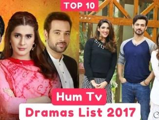 HUM TV Drama 2018- 2019