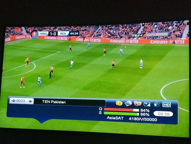 TEN Sports 2 HD Frequency Pakistan