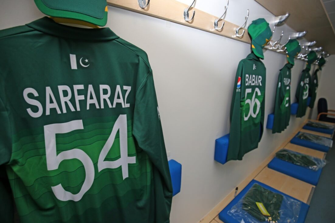 online retailer 2fcd0 087e9 Official Pakistan Kit for Cricket World Cup 2019 is ...