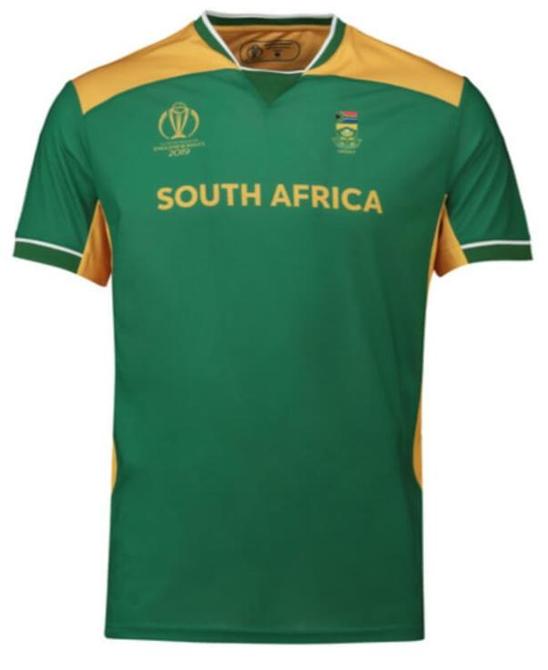 South Africa Kit for Cricket World Cup 2019