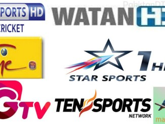 Cricket World Cup 2019 HD Channels Broadcast pakistan