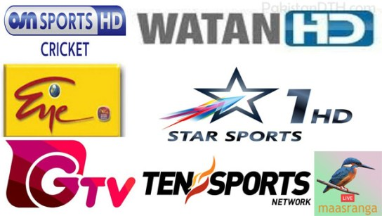 Cricket World Cup 2019 HD Channels Broadcast pakistan