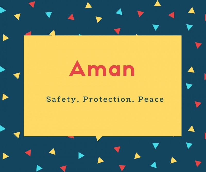 What Is Aman Name Meaning In Urdu Aman Meaning Is
