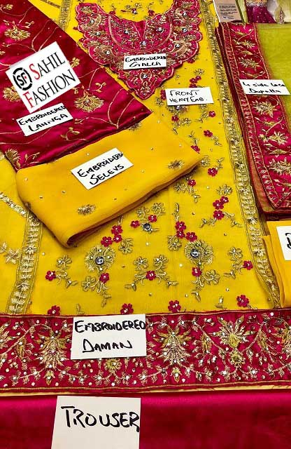 Pakistani Wedding Wear Collection