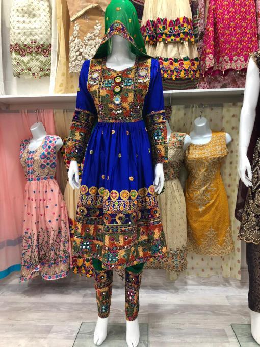 Afghani Dresses for Girls