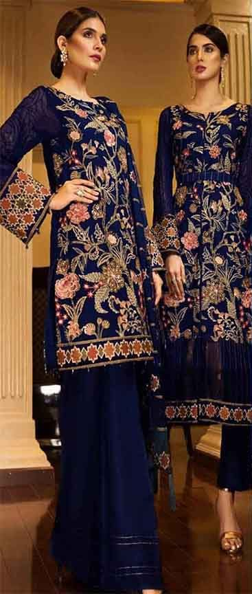 Baroque Jazmin Chiffon suit collection