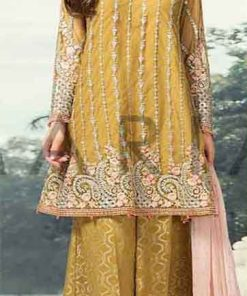 Maria B Chiffon Latest Suit 2019