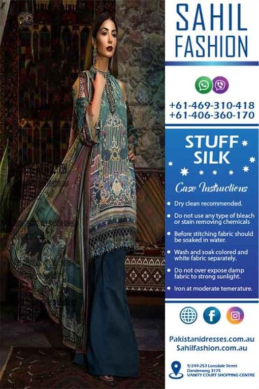 Maria B silk dresses online