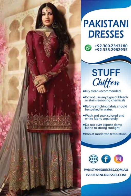 Indian Chiffon latest collection