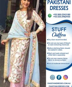 Indian Chiffon clothes online