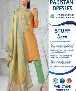 Pakistani eid summer dresses