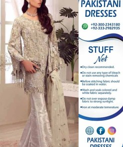 Pakistani net clothes online