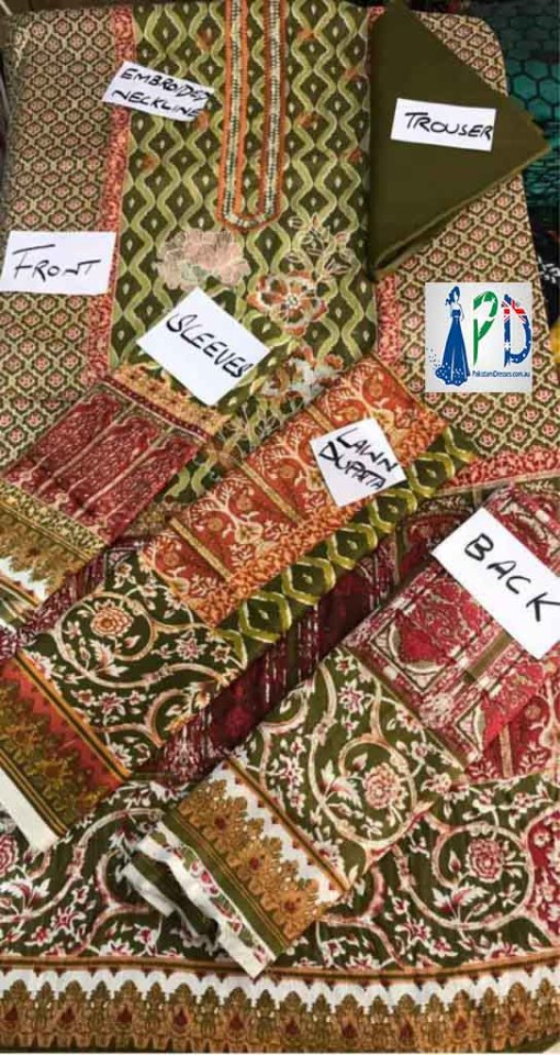 Pakistani online lawn collection