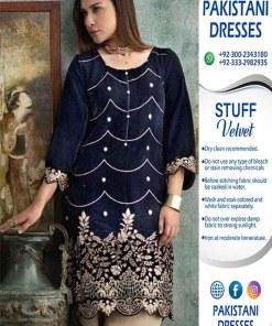 Agha Noor Latest Velvet Dresses