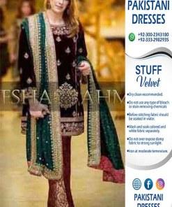 Aisha Imran Velvet Dresses Online