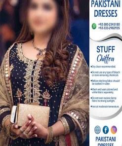 Al Haram Chiffon Dresses 2020