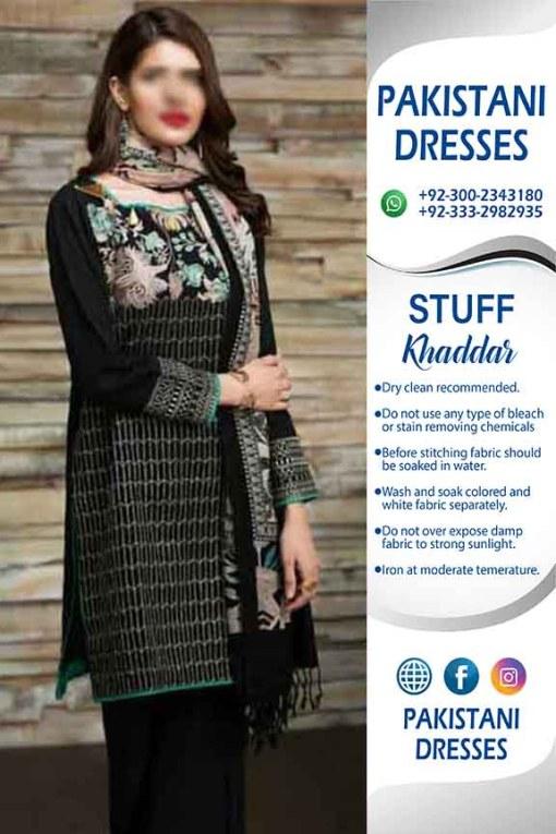 Khaadi Khaddar Dresses 2019