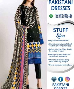 Khaadi Latest Linen Dresses